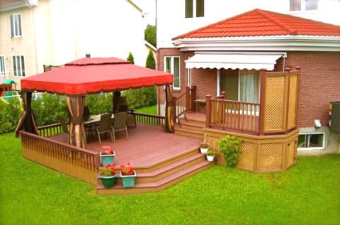 1001 fenetrealuminiumprix for Plan de patio exterieur en bois
